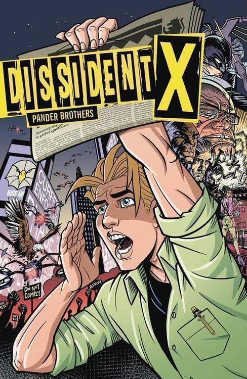 Dark horse comics dissident x tpb 20190424