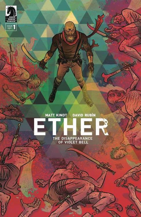Dark horse comics ether disappearance of violet bell 20190626