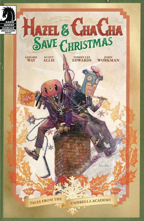 Dark horse comics hazel cha cha save christmas 20190828