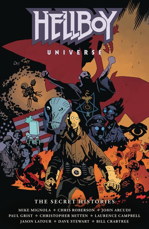 Dark horse comics hellboy universe secret histories hardcover 20210126