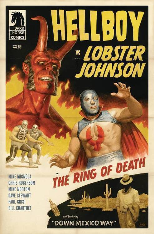 Dark horse comics hellboy vs lobster johnson ring of death 20190225