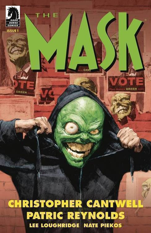Dark horse comics mask i pledge allegiance to the mask 20190730