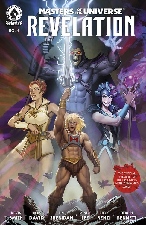 Dark horse comics masters of the universe revelation 20210502