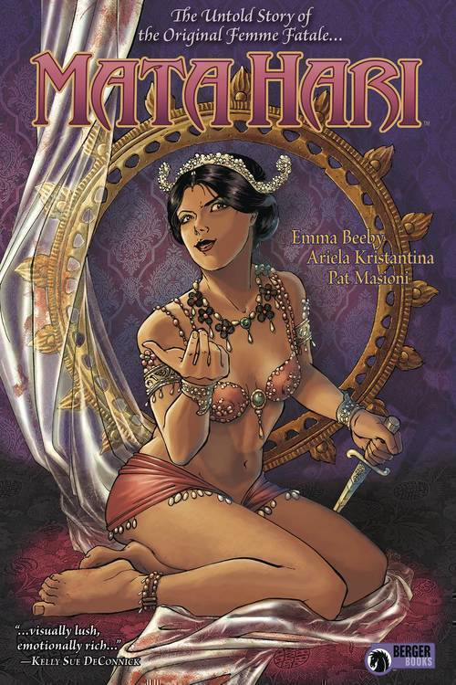 Dark horse comics mata hari hardcover mature 20180701