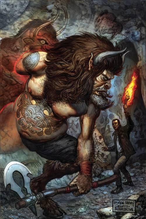 Dark horse comics neil gaiman american gods my ainsel 20180102