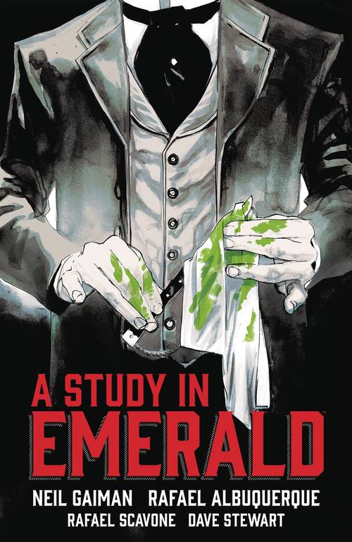 Dark horse comics neil gaiman study in emerald hardcover 20180203