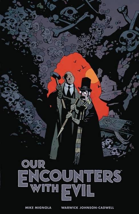 Our Encounters Evil Professor Meinhardt & Knox Hardcover