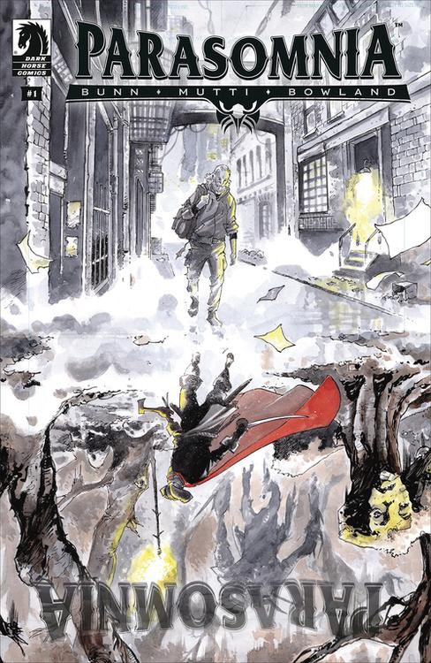 Dark horse comics parasomnia 20210325