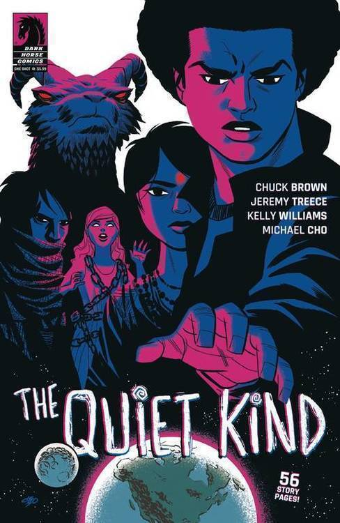 Dark horse comics quiet kind one shot 20190424