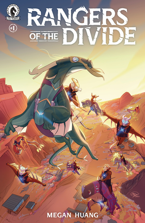 Dark horse comics rangers of the divide 20210224