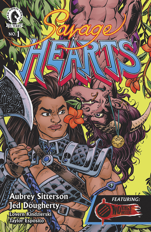 Dark horse comics savage hearts 20210502