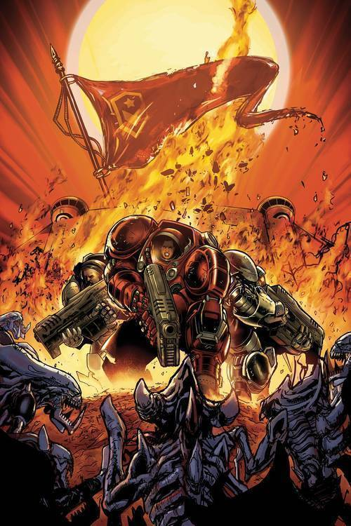Dark horse comics starcraft soldiers 20181025