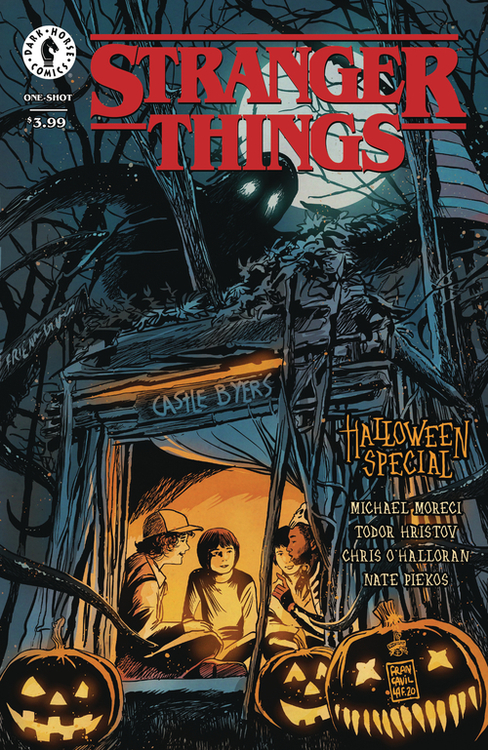 Dark horse comics stranger things halloween special one shot 20200730