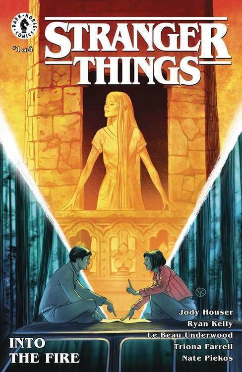 Dark horse comics stranger things into the fire 20191031