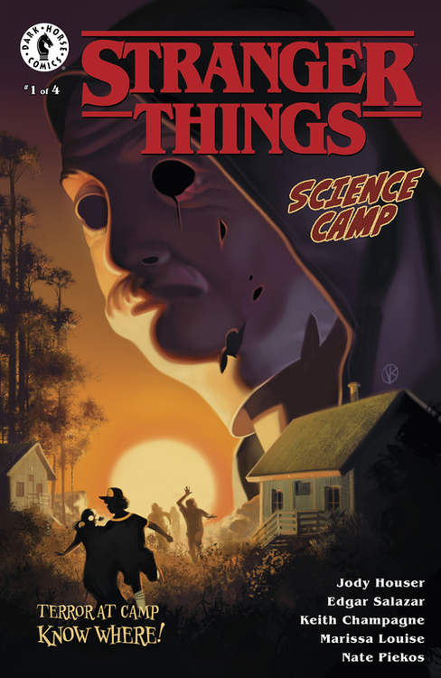 Dark horse comics stranger things science camp 20200627