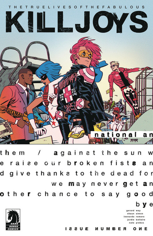 Dark horse comics true lives fabulous killjoys national anthem 20200730