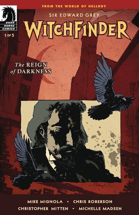 Dark horse comics witchfinder reign of darkness 20190828