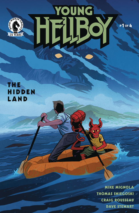 Dark horse comics young hellboy the hidden land 20201125