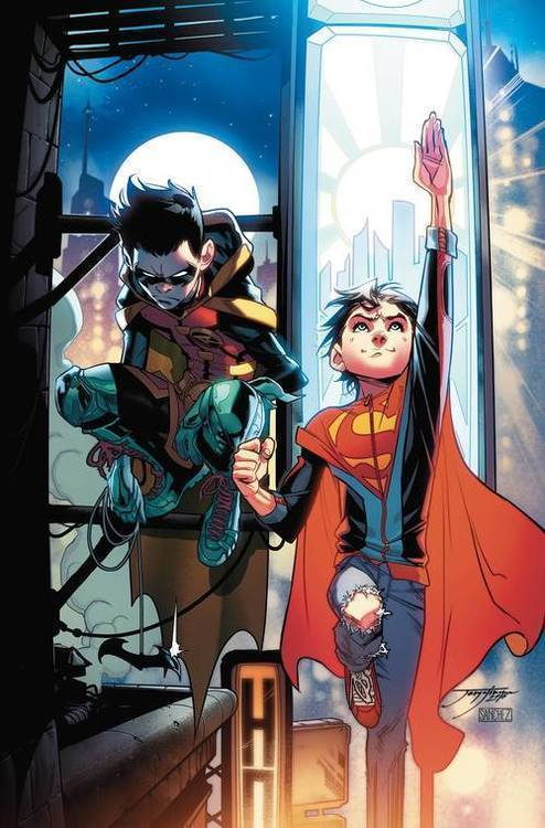 Dc comics adventures of the super sons tp vol 01 action detective 20181231