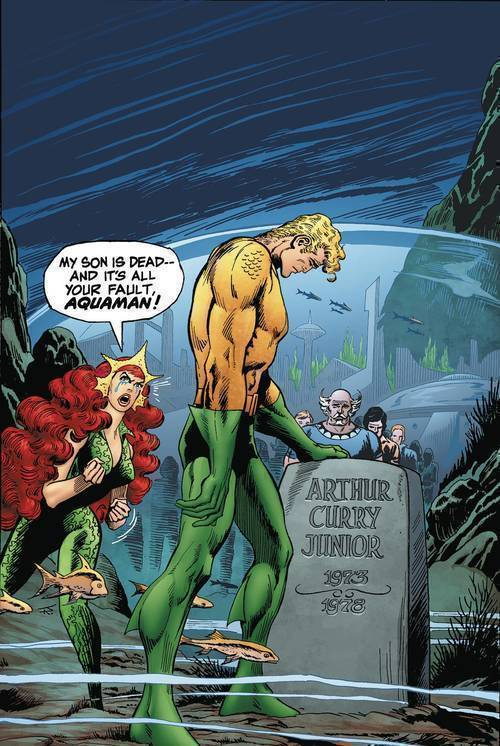 Aquaman Death Of A Prince Deluxe Edition Hardcover
