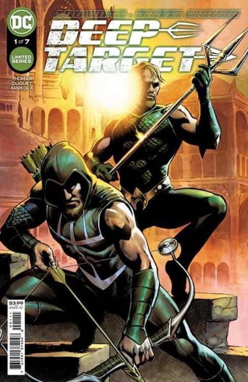 Dc comics aquaman green arrow deep target 20210728