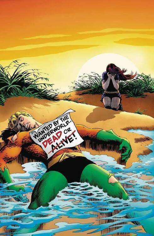 Dc comics aquaman the search for mera deluxe ed hardcover 20180801