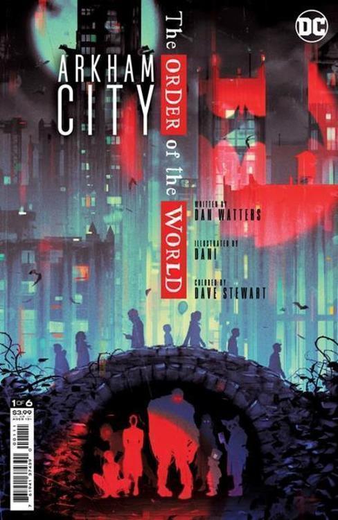 Dc comics arkham city the order of the world 20210728