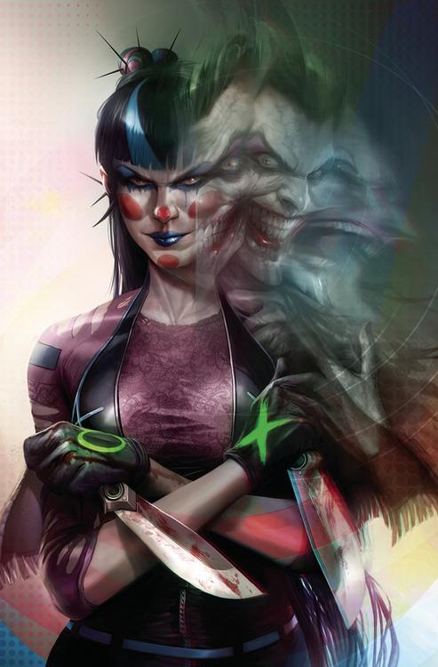 Dc comics batman 98 card stock f mattina var ed joker war 20200710 manage comics example shop