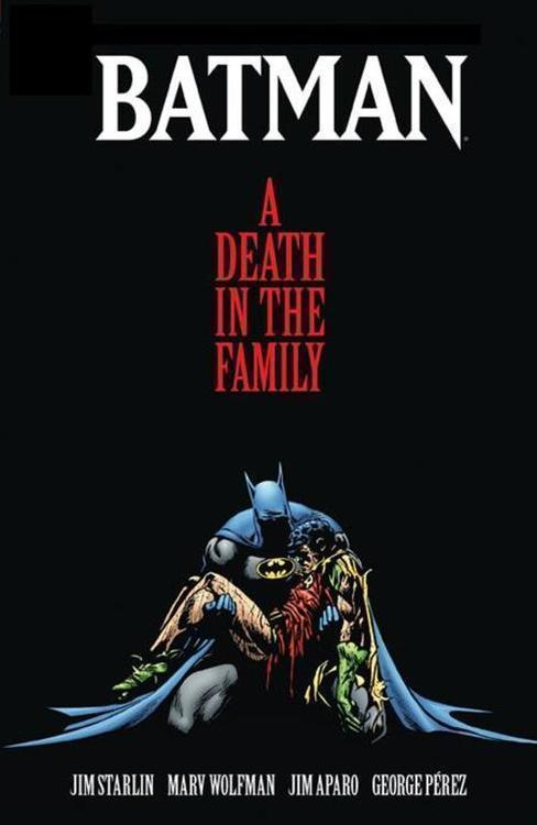 Dc comics batman a death in the family the deluxe edition hc 20201125
