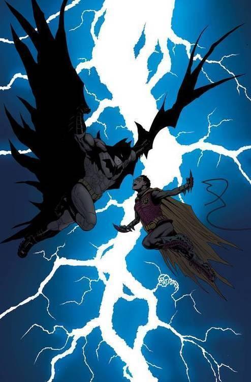 Dc comics batman and robin bad blood essential edition tpb 20180801