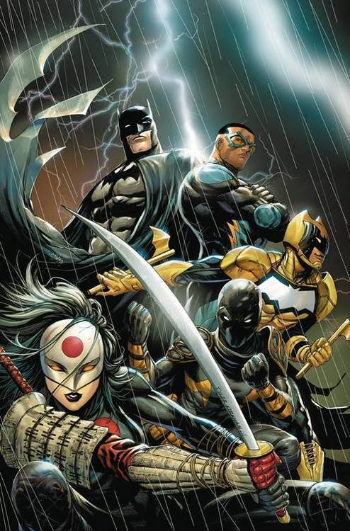 Dc comics batman and the outsiders 20180928