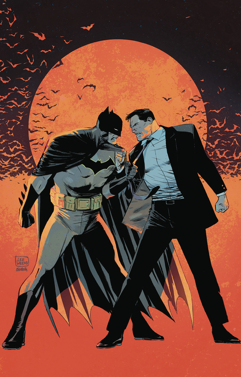 Batman By Tom King & Lee Weeks Deluxe Edition Hardcover