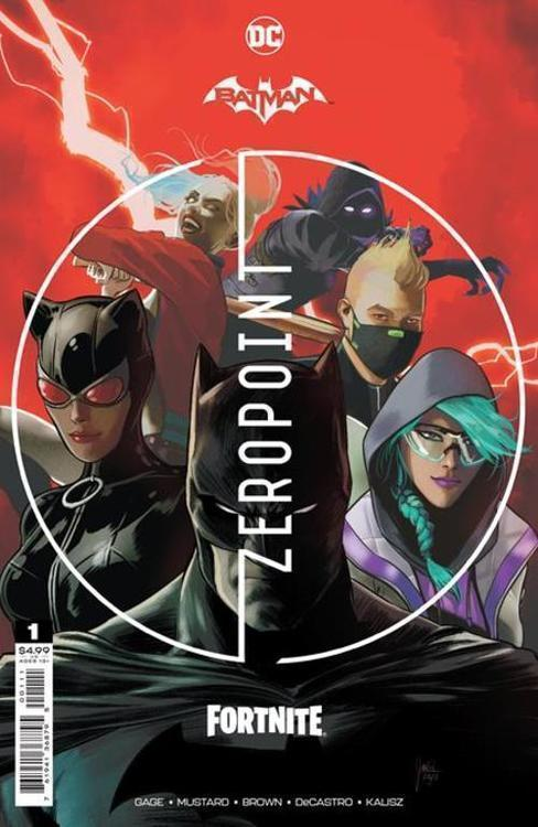 Dc comics batman fortnite zero point 20210310