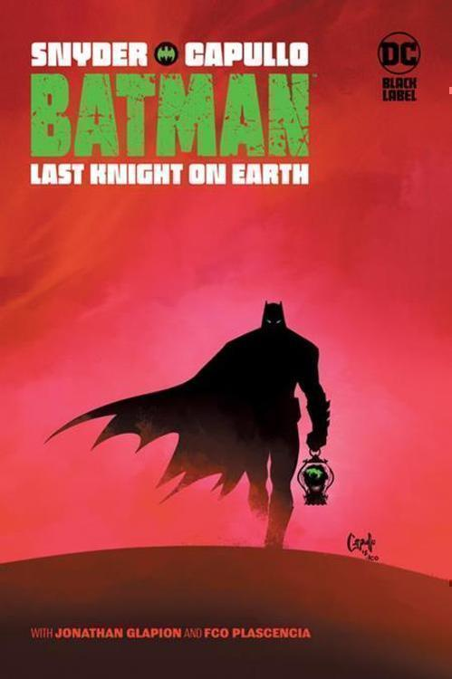 Dc comics batman last knight on earth tpb mature 20210630