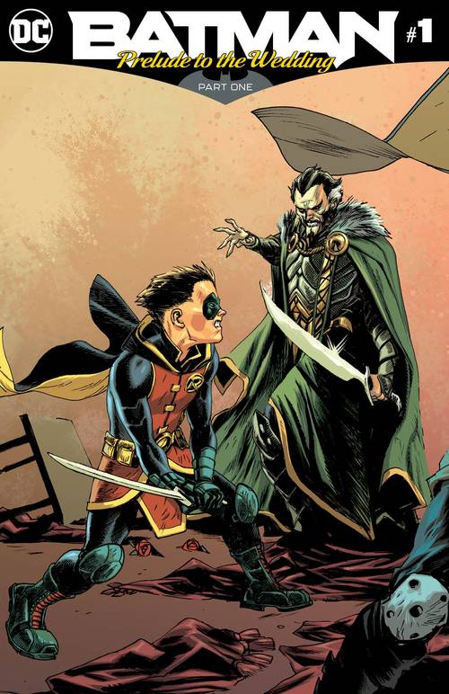 Dc comics batman prelude to the wedding robin vs ras al ghul 20180519