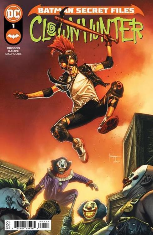 Dc comics batman secret files clownhunter 1 one shot 20210528