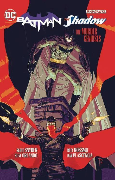 Dc comics batman shadow the murder geniuses tpb 20180830
