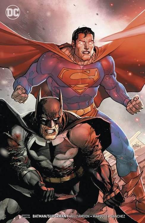 Dc comics batman superman variant 20190831 docking bay 94