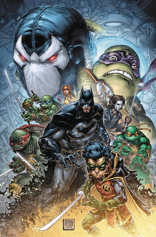 Dc comics batman teenage mutant ninja turtles ii hardcover 20180430