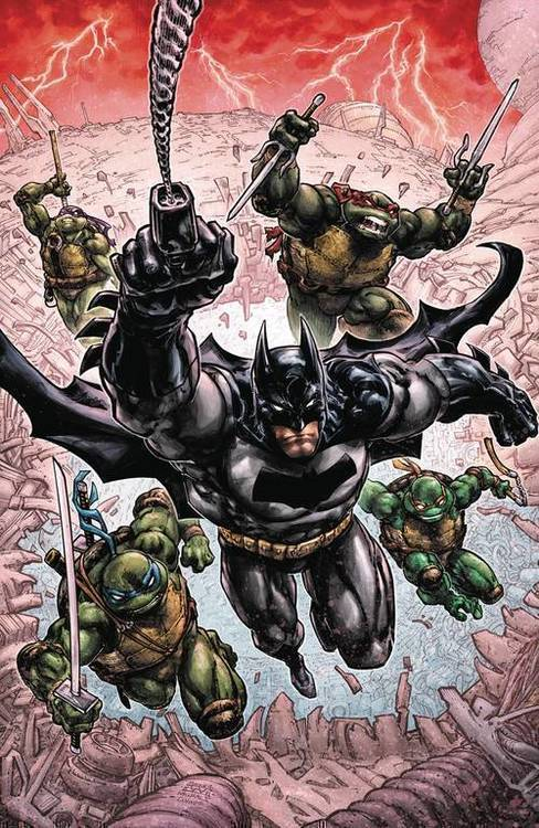 Dc comics batman teenage mutant ninja turtles iii tpb 20191227