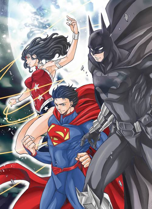 Batman & The Justice League Manga TPB Vol 01