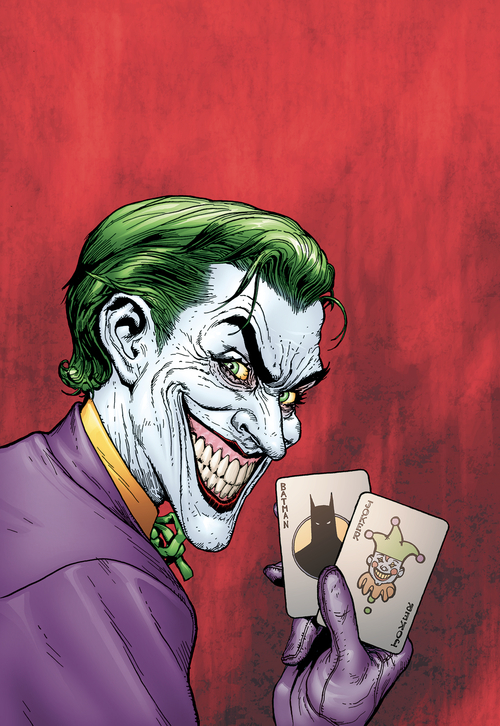 Batman The Man Who Laughs Deluxe Edition Hardcover