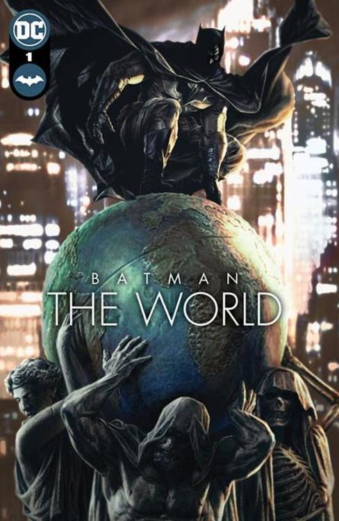 Dc comics batman the world hardcover 20210528