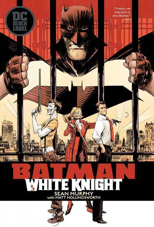 Dc comics batman white knight hardcover 20190327
