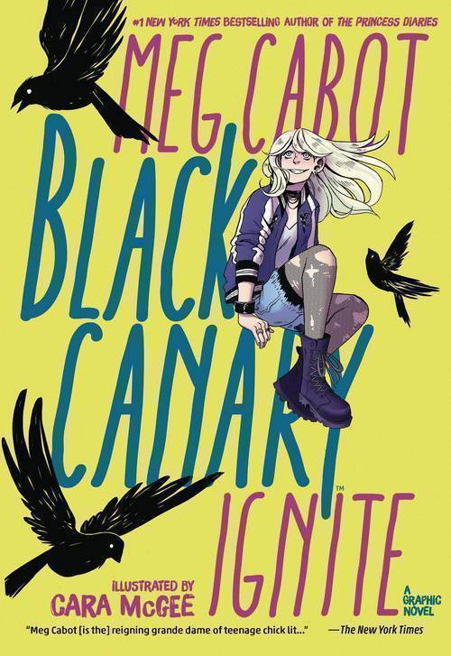 Black Canary Ignite TPB Dc Zoom