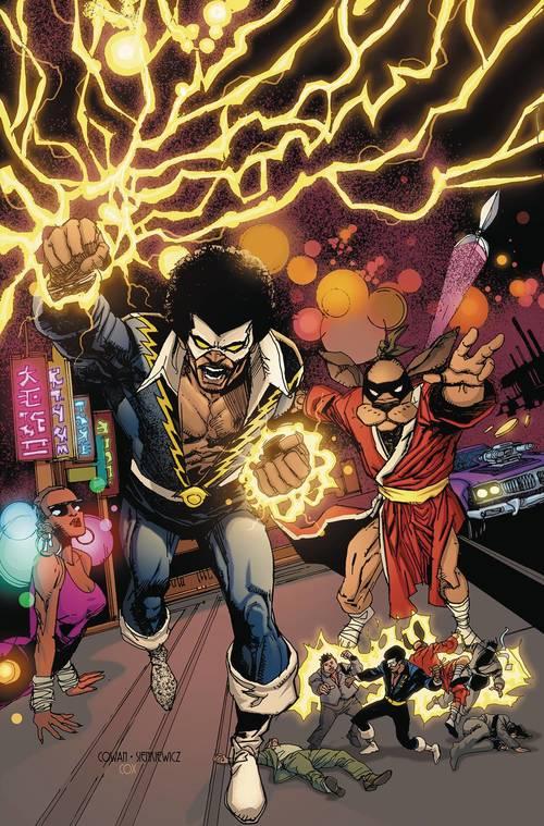 Dc comics black lightning hong kong phooey special 20180329