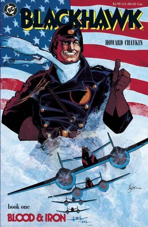 Blackhawk Blood & Iron Hardcover