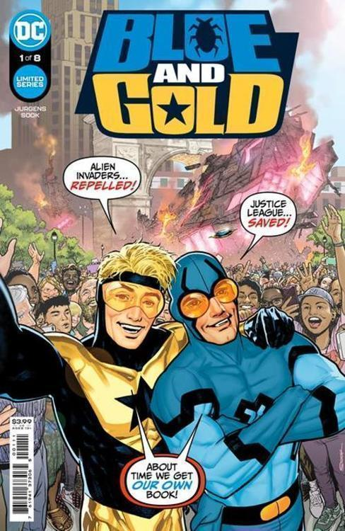 Dc comics blue gold 20210502