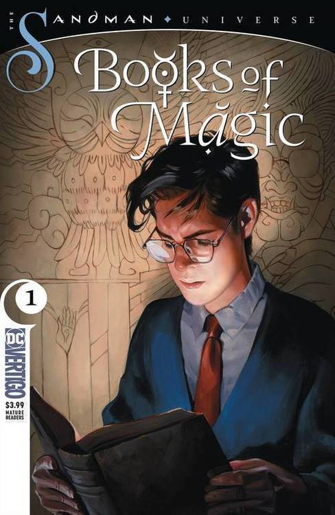 Dc comics books of magic mature 20180801