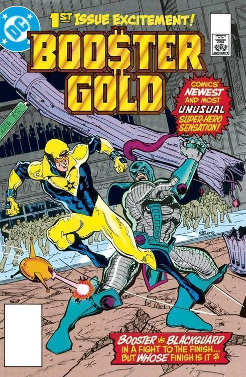 Dc comics booster gold the big fall hardcover 20190529